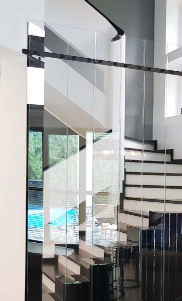 MM STUDIO - elementy szklane w domu