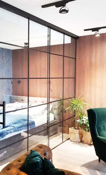 MM STUDIO - elementy szklane w mieszkaniu